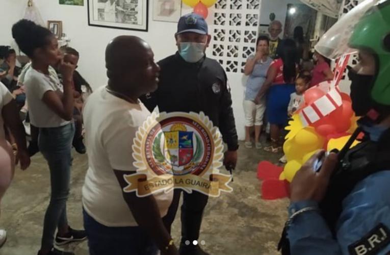 Policía acabó con fiesta en La Pedrera