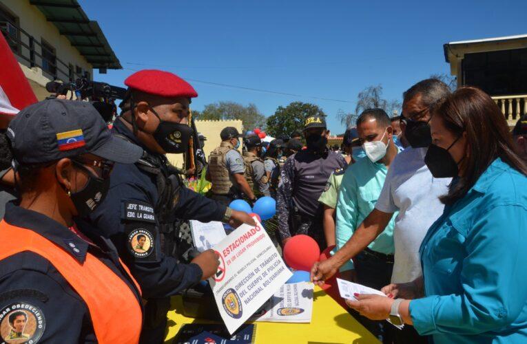 Funcionarios guaireños recibieron Jornada Integral Guardianes de la Patria