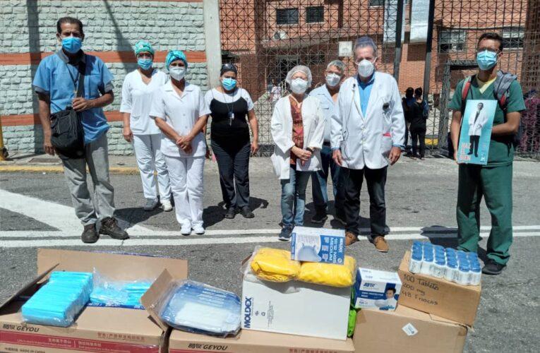 Médicos Unidos llevó insumos de bioseguridad al Periférico de Pariata