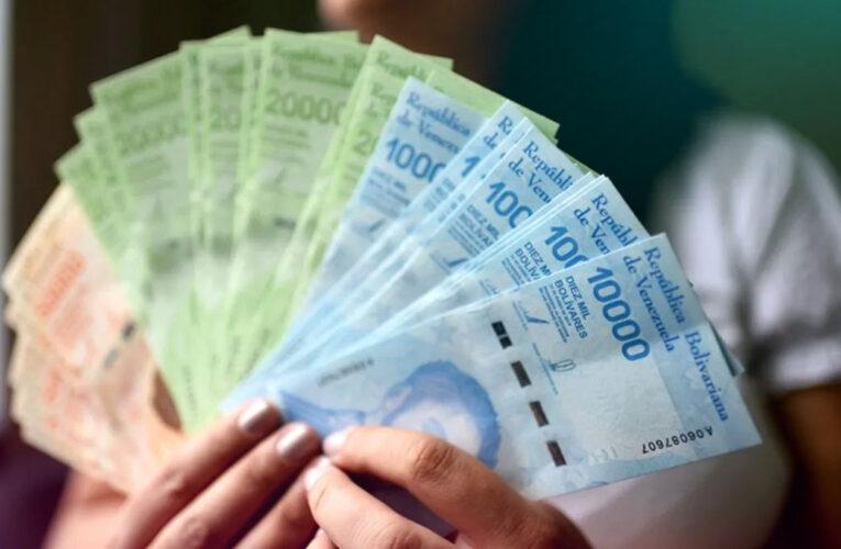 El salario mínimo quedó en Bs. 1.800.000