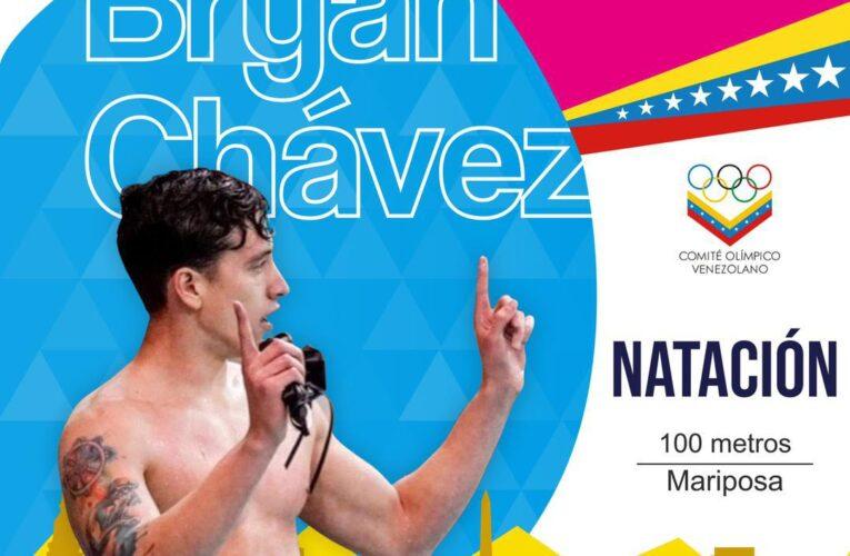 Bryan Chávez contento con sus marcas en Argentina