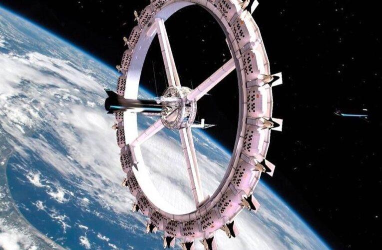 El primer hotel en el espacio abrirá en 2027