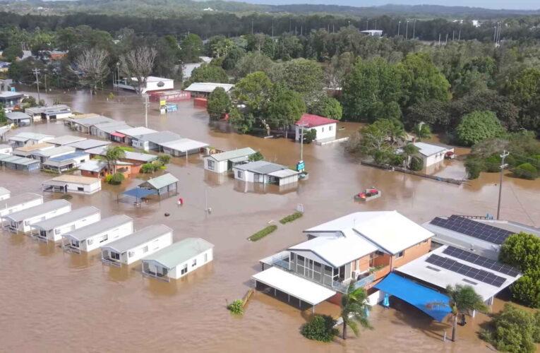 Evacuaron a 18.000 personas por inundaciones en Australia