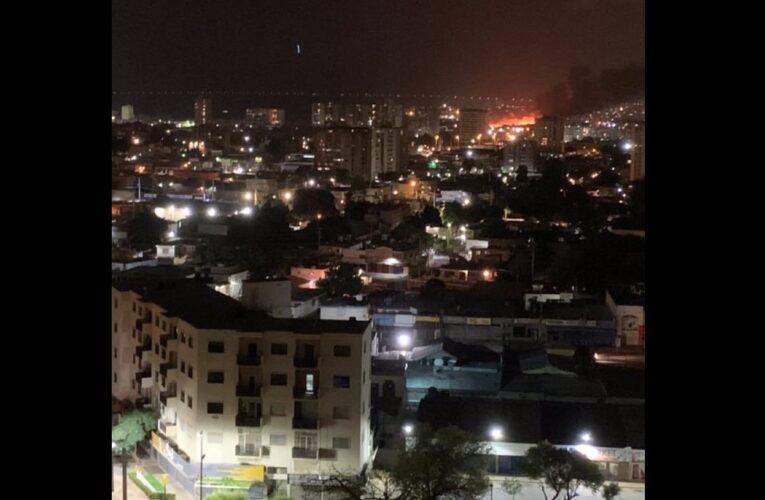 Quema masiva de basura causó alarma en Maracaibo