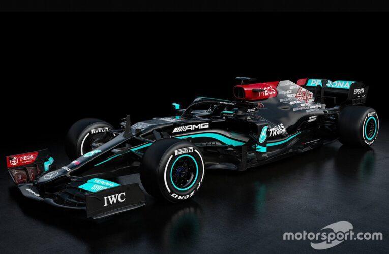 Mercedes presenta su nuevo bólido