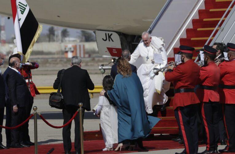 El Papa ya está en Irak