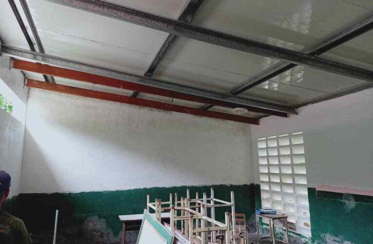 Avanza recuperación de la escuela de Todasana