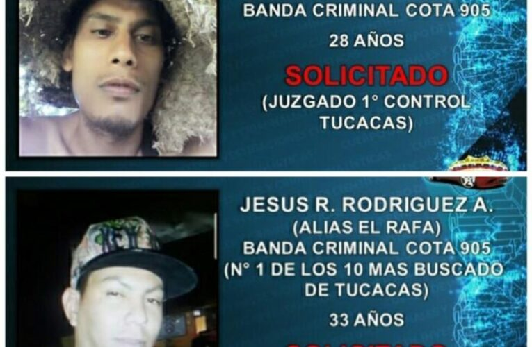 Abatidos 2 integrantes de la banda del Coqui en Tucacas