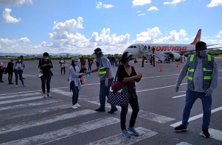Suspenden los vuelos nacionales hasta el 4 de abril