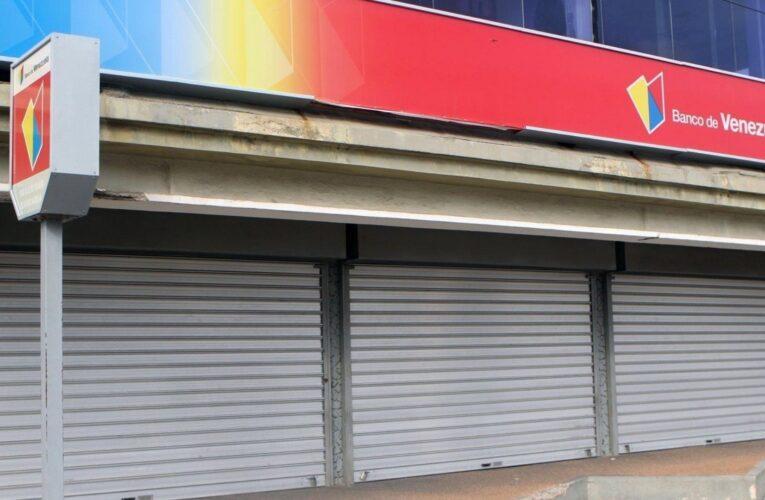 50% de las agencias bancarias abrirán dentro del cerco sanitario