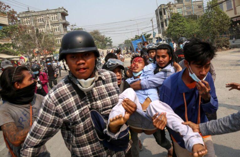 ONU condena matanza de manifestantes en Birmania