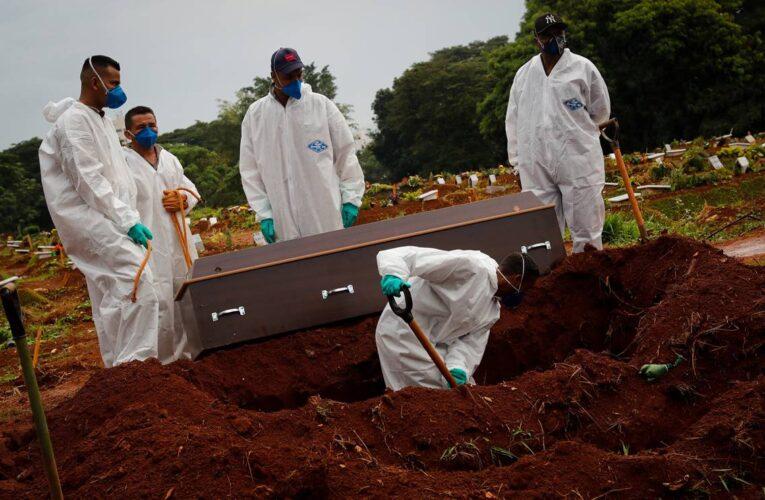 Nuevo récord de muertes por covid en Brasil: 3.780 en 24 horas
