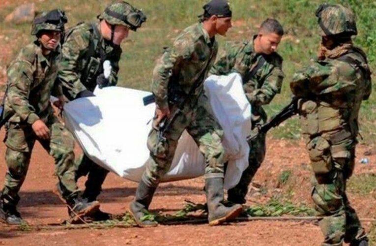 Abatidos 10 disidentes de FARC en bombardeo del Ejército colombiano