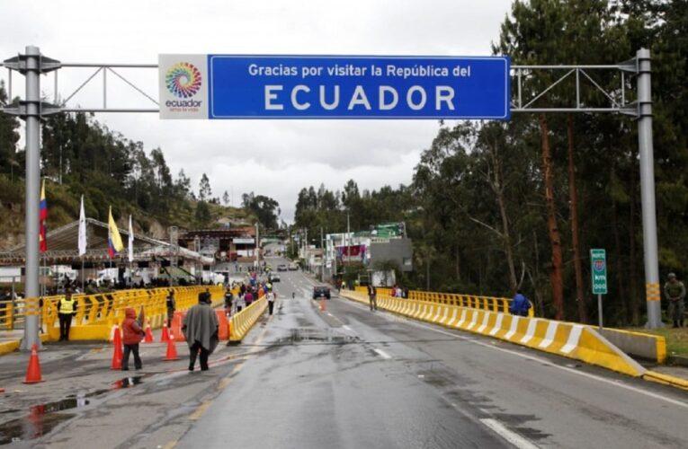 Aun en pandemia más de 500 venezolanos cruzan la frontera Colombia-Ecuador al día