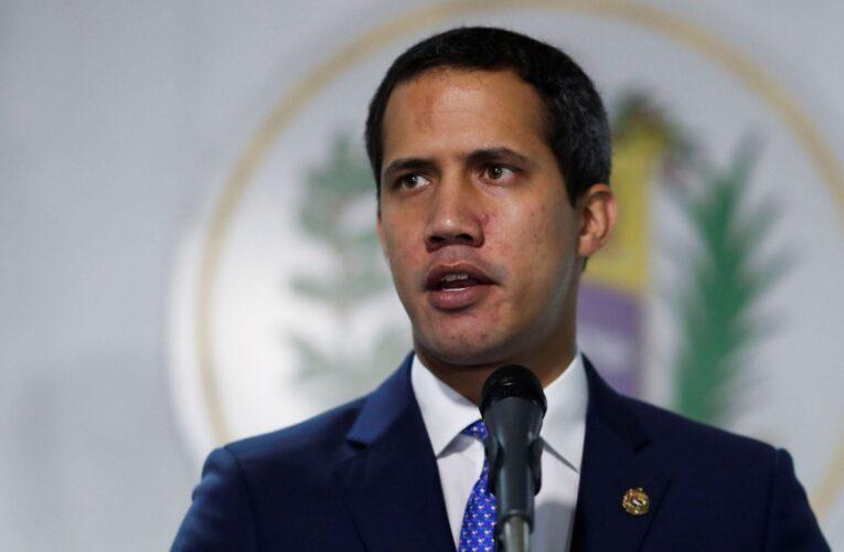 Guaidó habló de las vacunas con secretario de estado de EEUU