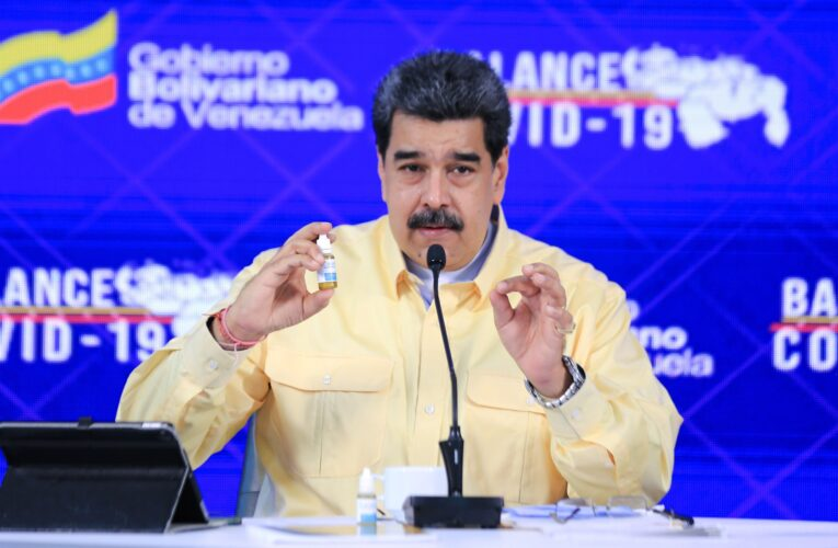 Maduro anuncia cerco sanitario en 4 estados