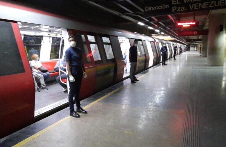 Sospechan que entre 70 y 100 trabajadores del Metro de Caracas tienen covid