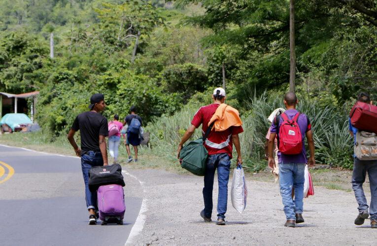 """Al menos 12% de los migrantes venezolanos están en situación de """"hambre severa"""""""