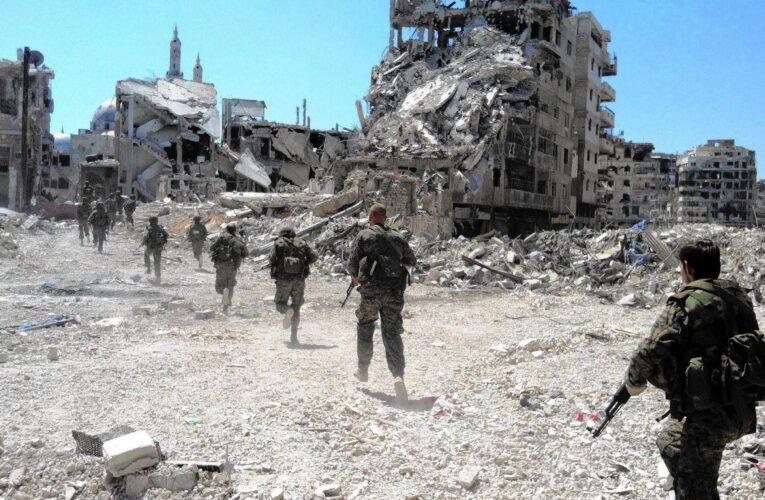 Diez años de guerra dejan casi 400.000 muertos en Siria