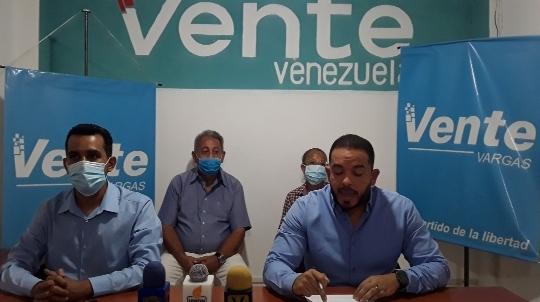 Vente Vargas denuncia colapso de servicios públicos
