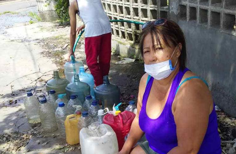 40 días tienen sin agua en Zamora