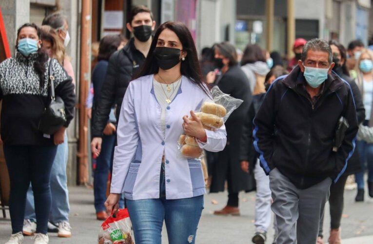 Casos activos en Chile superan los 45 mil