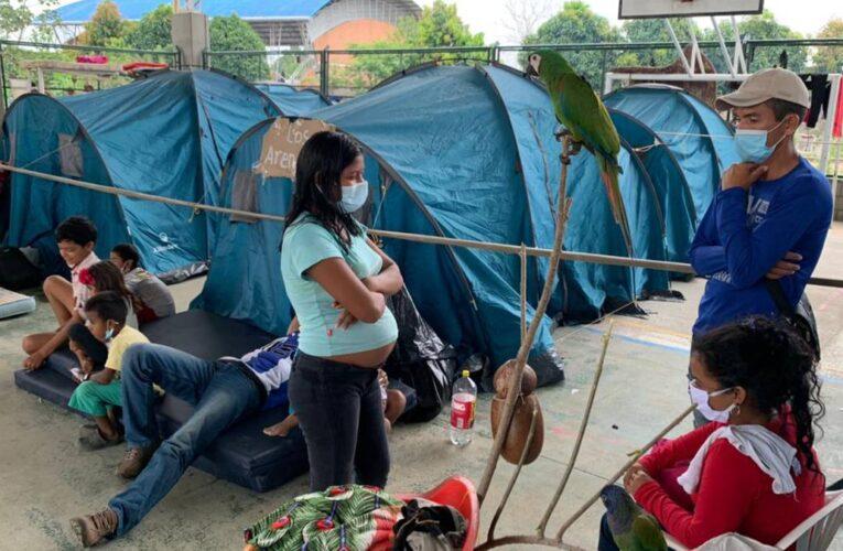 19 casos covid en refugios de venezolanos en Arauquita