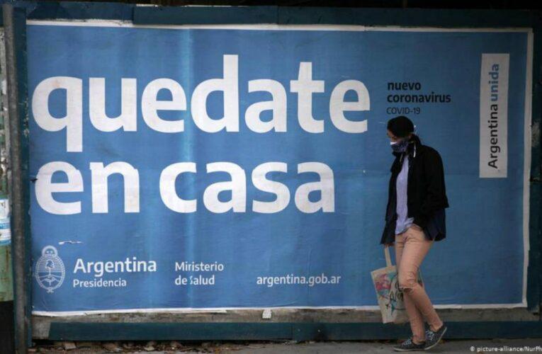 Toque de queda en Argentina por repunte de contagios