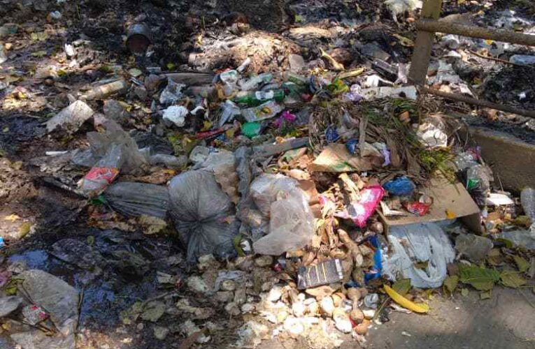 En Todasana queman la basura porque no va el aseo