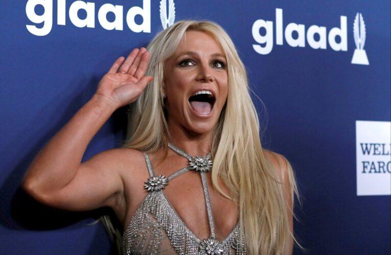 Britney se vacunó