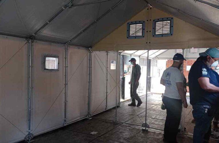 Acnur y Gobernación instalarán 4 carpas de triaje en La Guaira