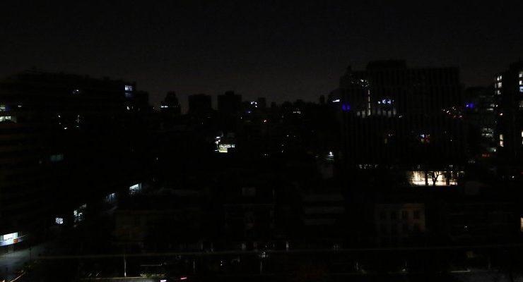 Reportan fallas eléctricas en varias ciudades del país