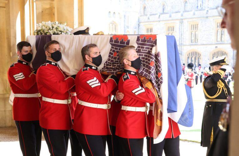 El último adiós al duque de Edimburgo