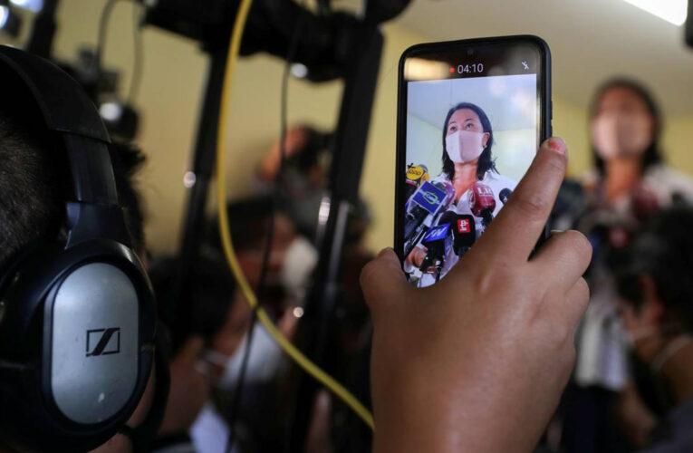 """Es un clon de Chávez"" alerta Keiko Fujimori sobre Pedro Castillo"