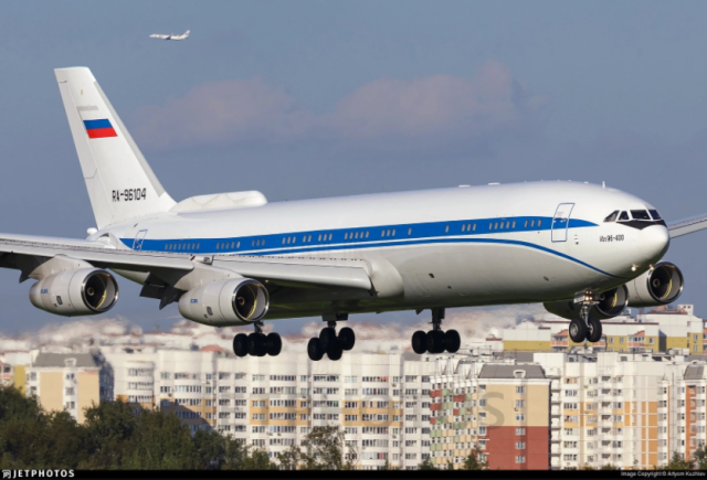 Colombia expulsa avión ruso de su espacio aéreo