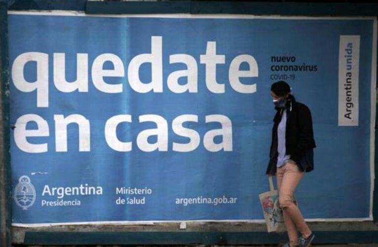 Restringen circulación en Buenos Aires por aumento en los contagios