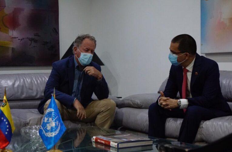 David Beasley director de la ONU se reunirá con Maduro hoy