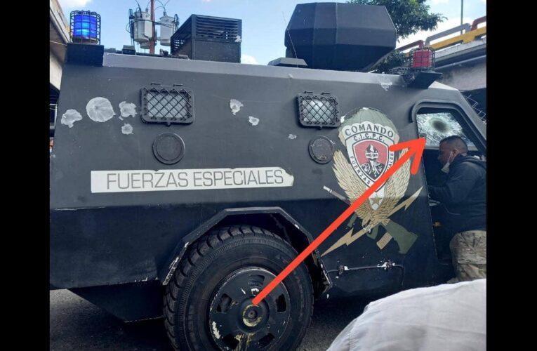 4 policías heridos dejó el ataque de El Coqui