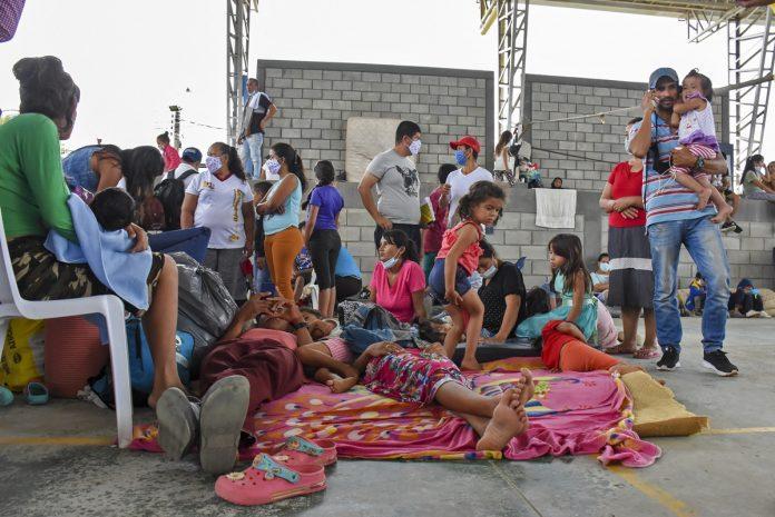 Confirman 23 casos de covid en refugio para apureños en Colombia