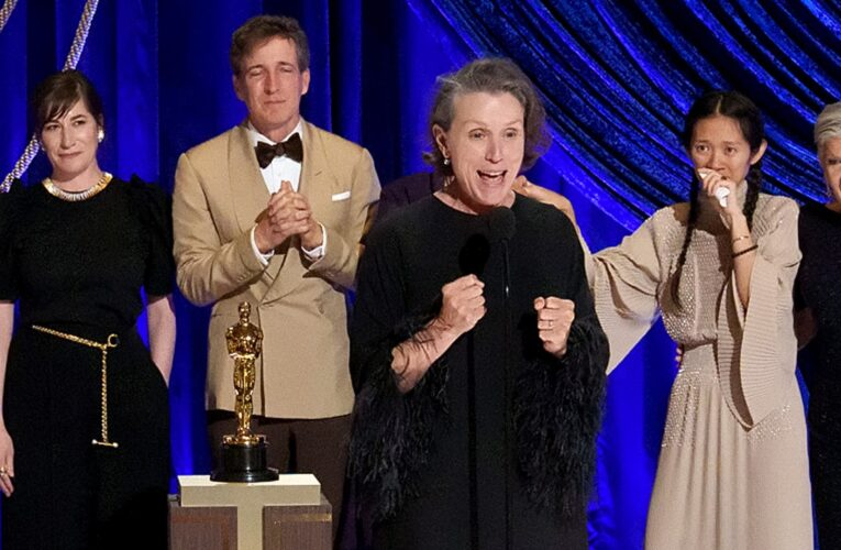 Por esta razón Frances McDormand aulló al recibir el Oscar