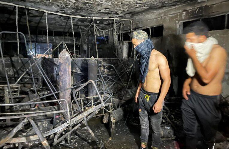 82 muertos por explosión de bombonas de oxígeno en hospital covid de Irak