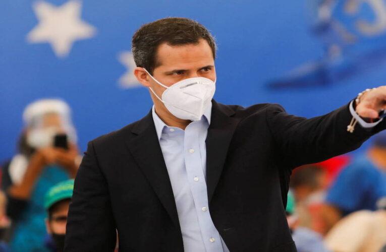Juan Guaidó exige un plan serio de vacunación