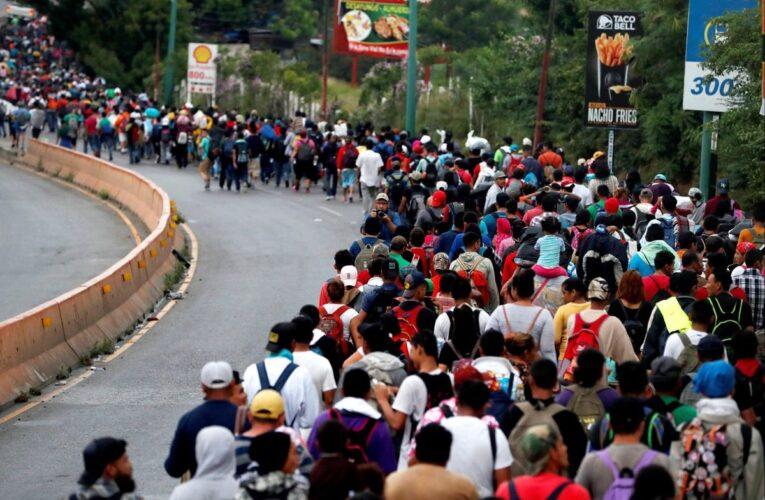 Solicitudes de asilo rompen récord en frontera sur de México