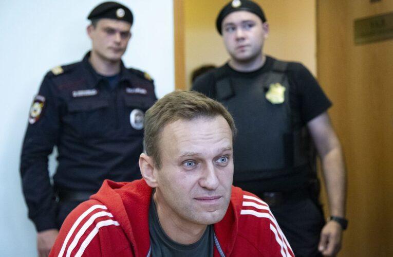 Alexei Navalny se declara en huelga de hambre