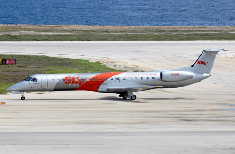 Aerolínea Sky High inició vuelos entre Santo Domingo y Maracaibo