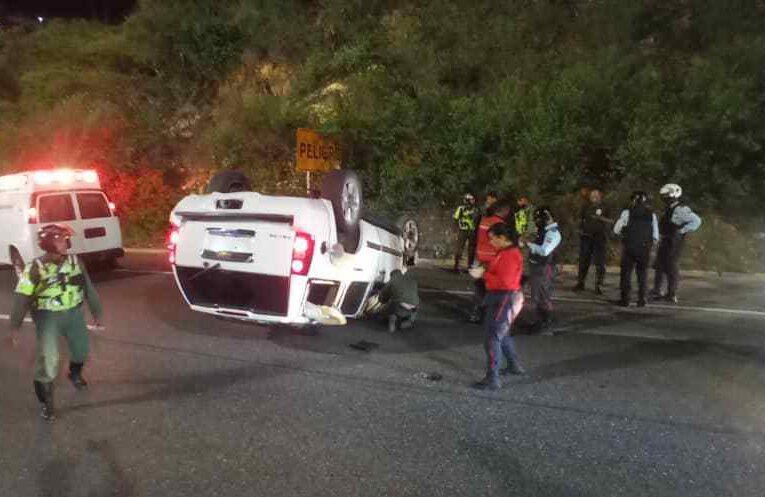 Dos accidentes en menos de 12 horas en la autopista Caracas-La Guaira