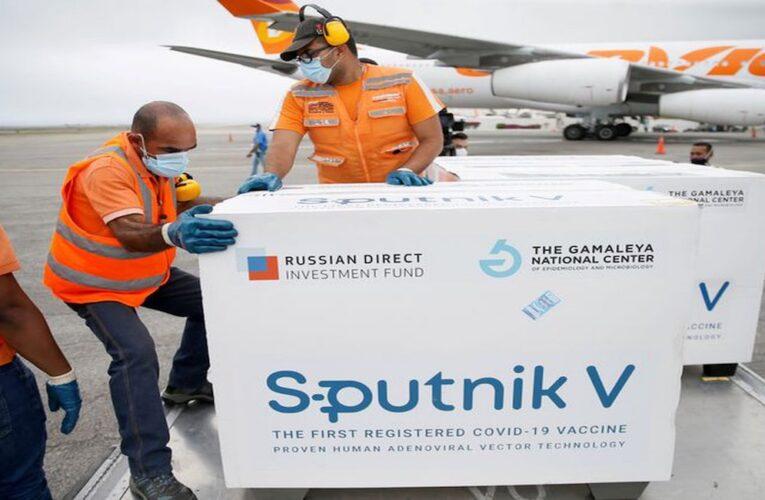 Llegaron 80.000 dosis de Sputnik V