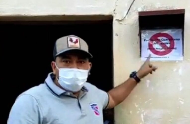 MP abrió investigación contra alcalde que marcó casas de pacientes covid