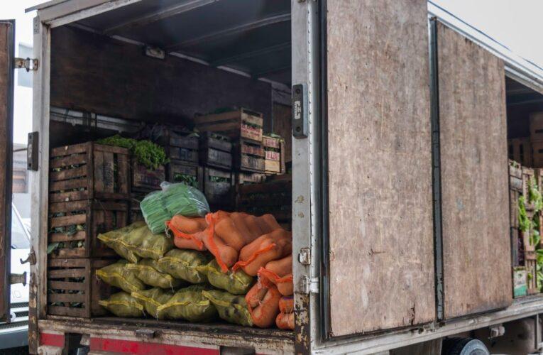 30% del cargamento agrícola se queda en las carreteras