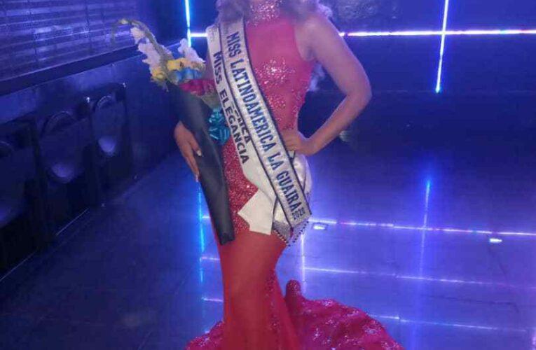 Alfrimar Silva se alzó con la corona del Miss Latinoamérica La Guaira